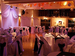Salon Marron Glace Villa Pueyrredon. Salones de eventos.